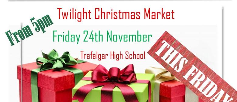 Twilight Christmas Market