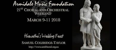 Armidale Music Foundation Choral Weekend