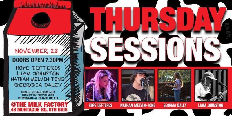 Thursday Sessions Brisbane Eventfinda