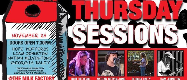 Thursday Sessions