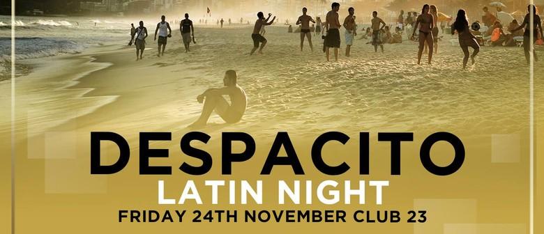Despacito Latin Night – Summer Fiesta