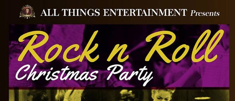 The Rock N Roll Christmas Party With Dwayne Elix & the Engin