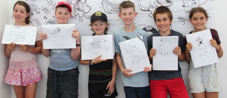 Cartooning Workshops & Classes for Kids – School Holidays