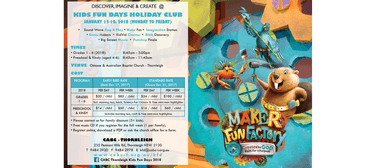 Kids Fun Days Holiday Club 2018