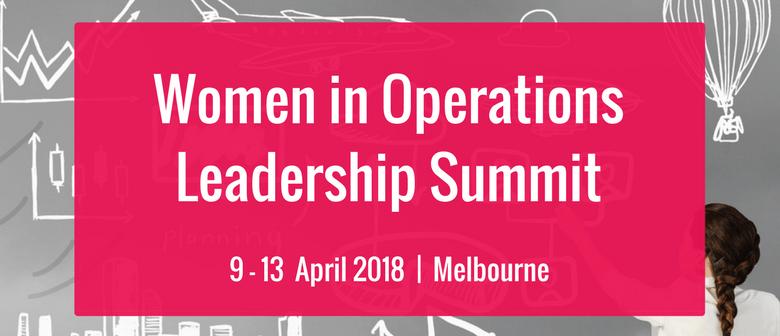 4th Women In Operations Leadership Summit