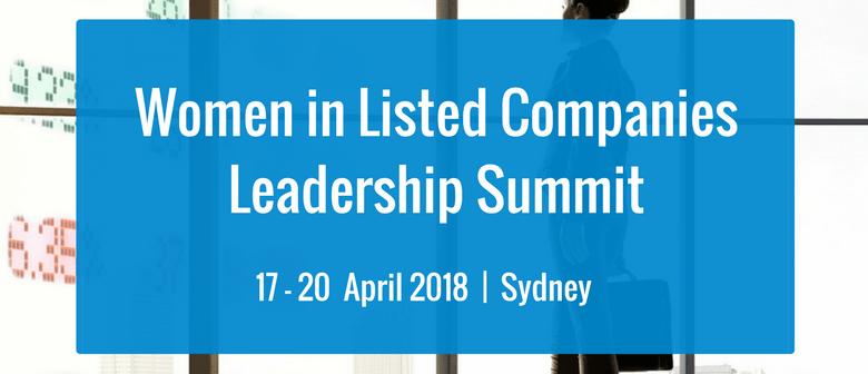 Women In Listed Companies Leadership Summit