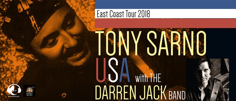 Tony Sarno (USA) with The Darren Jack Band