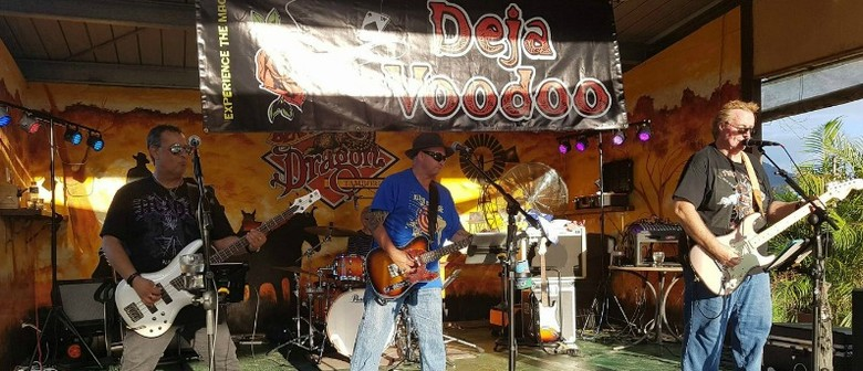 Bluesy Tamborine Sunday With Deja Voodoo
