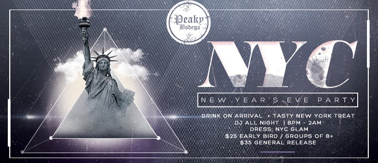 NYC New Year's Eve Party