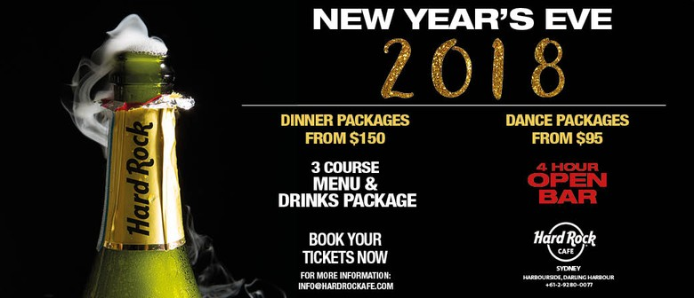 New Years Eve At Hard Rock Cafe