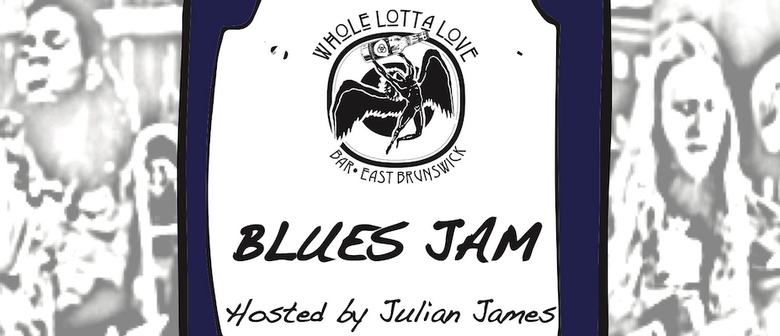 Monthly Blues Jam Hosted By Julian James