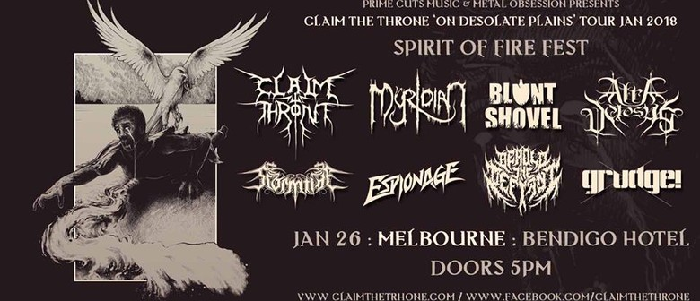 Spirit of Fire Metal Fest – Claim the Throne