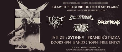 Claim The Throne – On Desolate Plains Tour