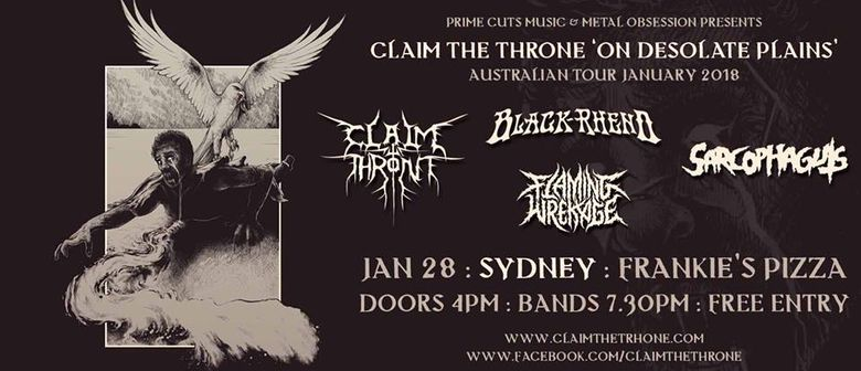Claim The Throne – On Desolate Plains Tour