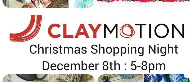 Christmas Shopping Night