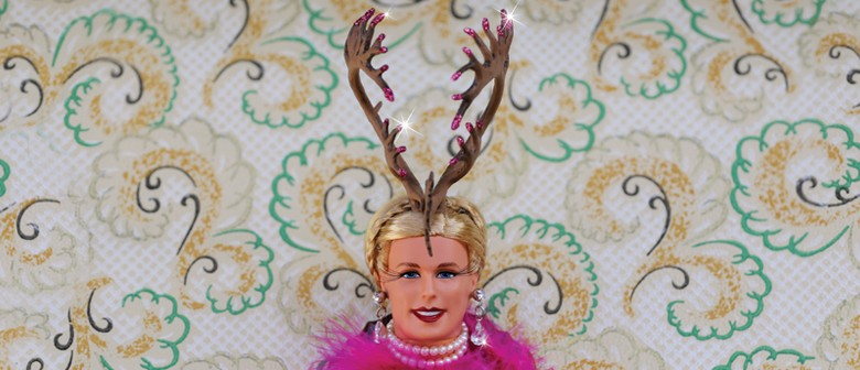 Trophy Wife Barbie Exhibition Opening