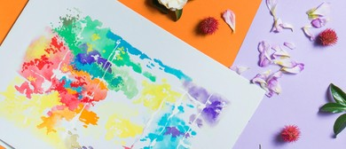 Watercolour Workshop With Grazing Table & Wine