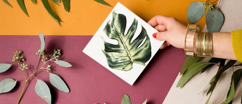 Foliage Illustration Art Workshop