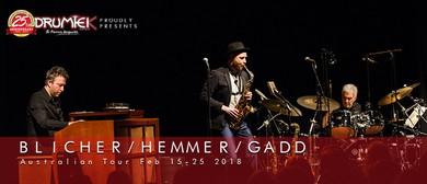 Blicher Hemmer Gadd Australian Tour
