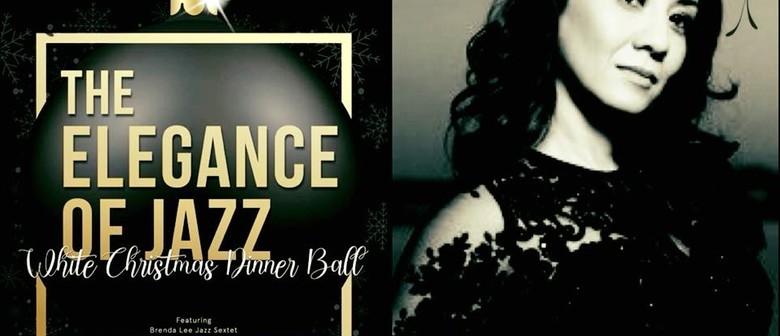 Elegance of Jazz White Christmas Dinner Ball