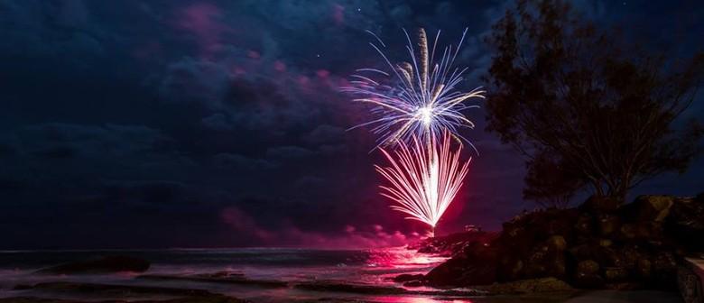 Coolangatta NYE Fireworks