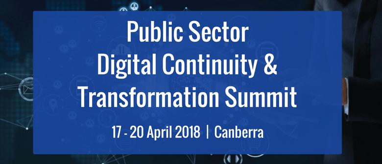 Public Sector Digital Continuity & Transformation Summit