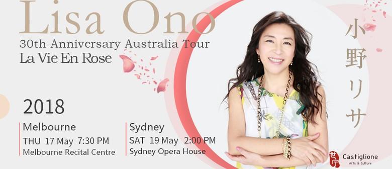 La Vie En Rose – Lisa Ono 30th Anniversary Australia Tour
