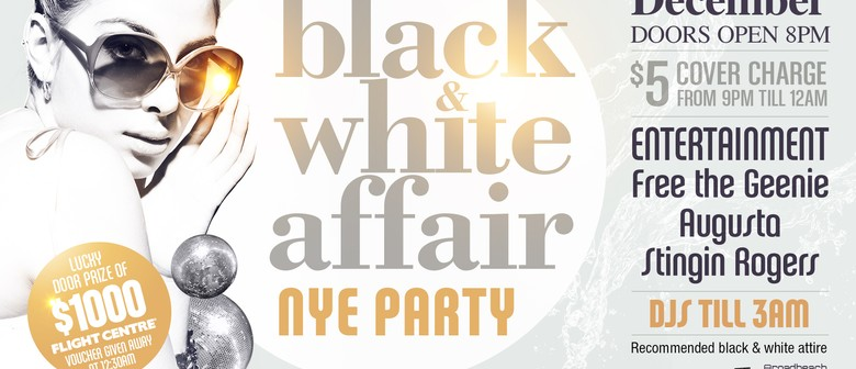 Black & White Affair New Years Party