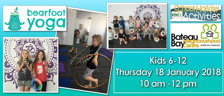 Yoga & Craft Workshop for 6–12 Year Olds