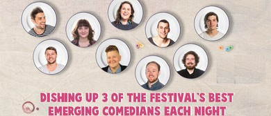 3-Course Comedy – Fringe World