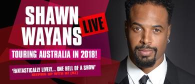 Shawn Wayans Live