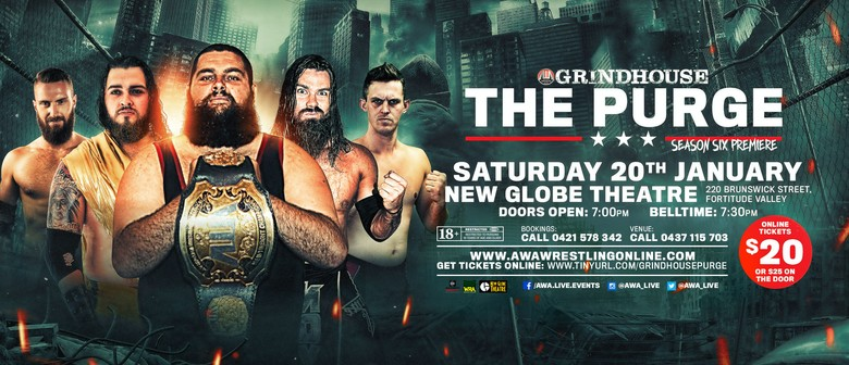 "Grindhouse Wrestling ""The PURGE"" (Season 6 premiere)"