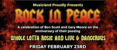 Musicland - Honoring Bon Scott & Gary Moore
