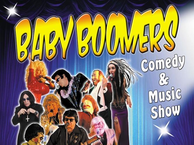 Baby Boomers Comedy and Music Show - Davistown - Eventfinda