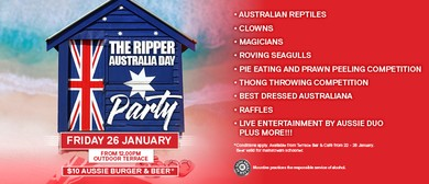 The Ripper Australia Day Party