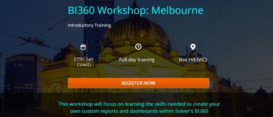 BI360 Intro Workshop