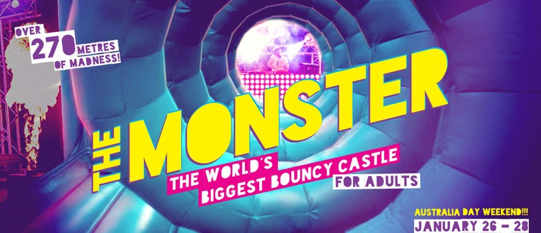 The Monster: Giant Inflatable Bouncy Castle