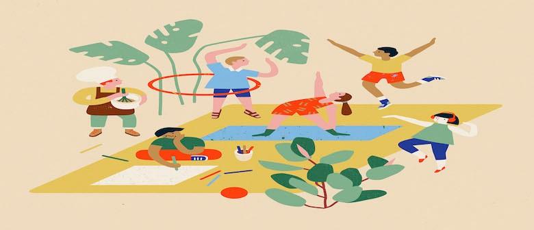 Happy Campers – Kids Wellness Hub