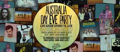 Aussie Day Eve
