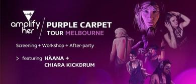 Amplify Her – Melbourne Purple Carpet Premiere & After Party