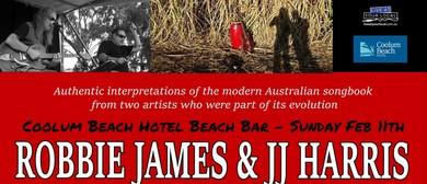 Robbie James and JJ Harris