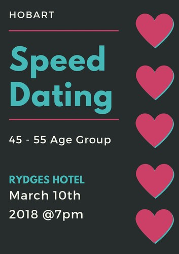 Speed dating hobart tas