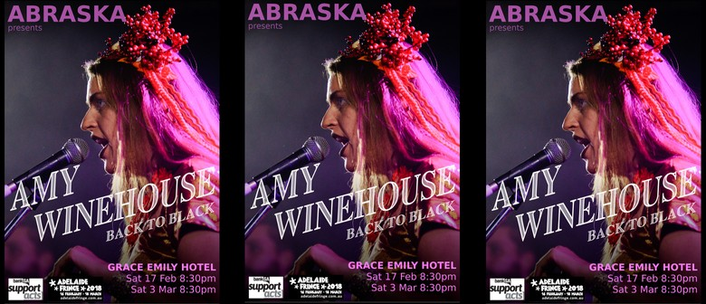 Abraska presents amy winehouse back to black adelaide eventfinda abraska presents amy winehouse back to black malvernweather Image collections
