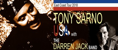 Tony Sarno With the Darren Jack Band