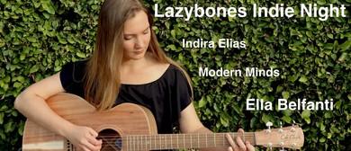 Lvl 1: Indie Night – Ella Belfanti, Indira Elias, Modern Min