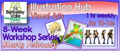 Illustration Hub 8-Week Visual Arts Workshop Series