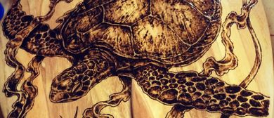 Pyrography – Surf's Up @ The Pav