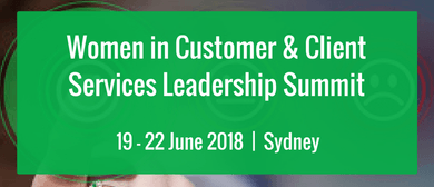 Women In Customer and Client Services Leadership Summit