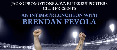 An Intimate Luncheon With Brendan Fevola