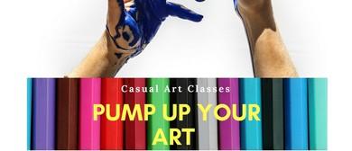 Pump Up Your Art